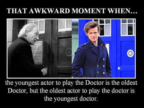 Doctor Who wallpaper containing a business suit called That Awkward Moment When...