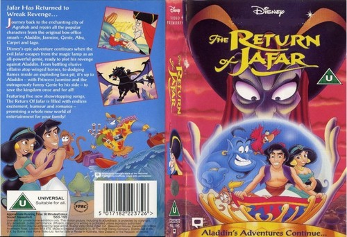 The Classic Return of Jafar cover