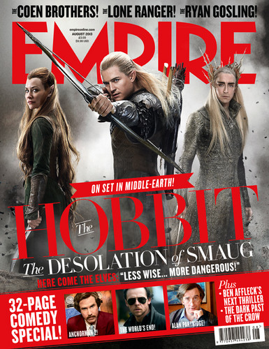 The Desolation of Smaug | Empire Cover