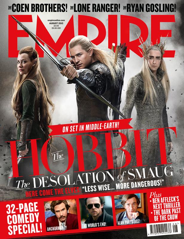 The Desolation of Smaug | Empire Cover