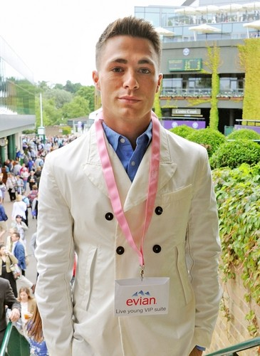 The Evian 'Live Young' Suite At Wimbledon