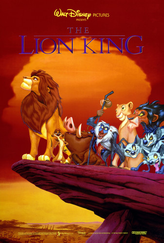 Le Roi Lion fond d'écran probably with animé called The Lion King Movie Poster