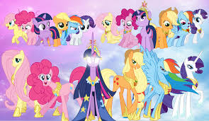 My Little Pony Friendship is Magic wallpaper titled The Mane 6