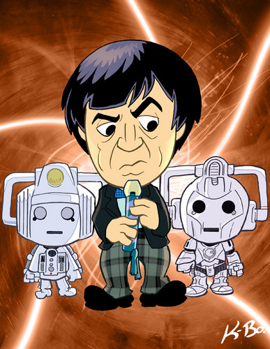 The secondo Doctor and the Cybermen