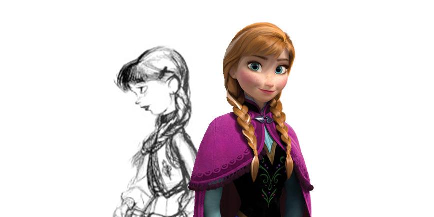 The Snow Queen to Frozen