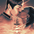 The end of Vulcan - spock-and-uhura fan art