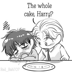 The whole cake, Harry?