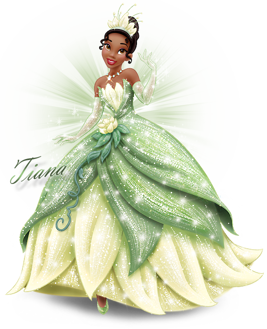 Princess Frog Tiana Costume Jewels Gloves Purse
