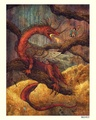 Smaug & Bilbo - jrr-tolkien photo