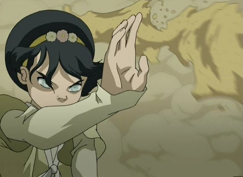 Avatar The Last Airbender kertas dinding with Anime titled Toph
