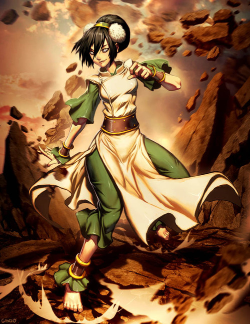 Avatar: The Last Airbender images Toph wallpaper and background photos ...: www.fanpop.com/clubs/avatar-the-last-airbender/images/34880423...