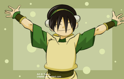 Can avatar last airbender toph porn sorry, that