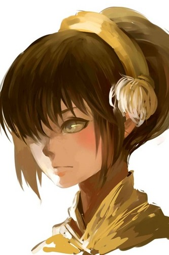 Awatara - ang Huling Airbender wolpeyper probably with a portrait entitled Toph