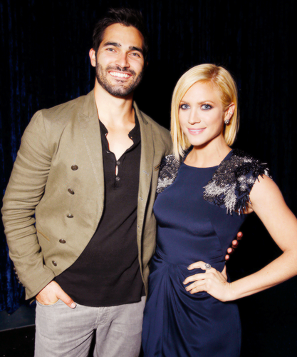 Britanny Snow and her ex-boyfriend Tyler Hoechlin