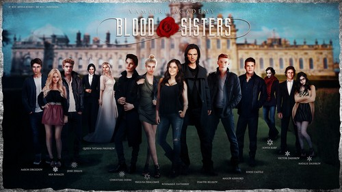 The Vampire Academy Blood Sisters achtergrond with a straat entitled Vampire Academy fanmade poster