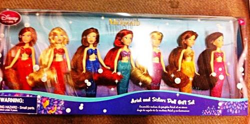 Walt Disney poupées - Princess Ariel & Her Sisters