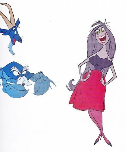 Walt ディズニー Production Cels - Merlin & Madam Mim
