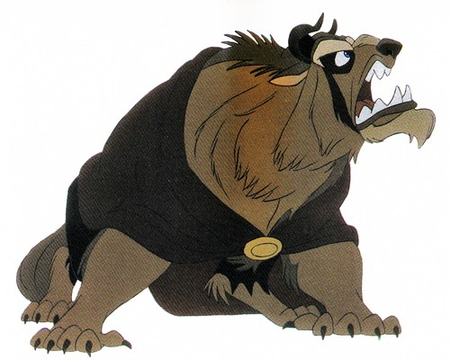Walt Disney Production Cels - The Beast