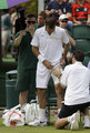 Wimbledon 2013 : injuries and falls - tennis photo