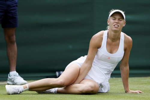 Wimbledon 2013 : injuries and falls..