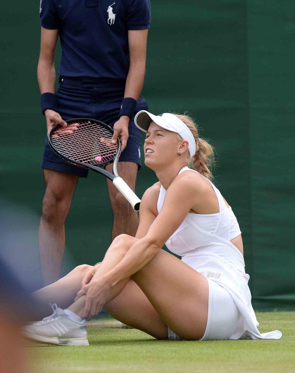 Wimbledon 2013 : injuries and falls..