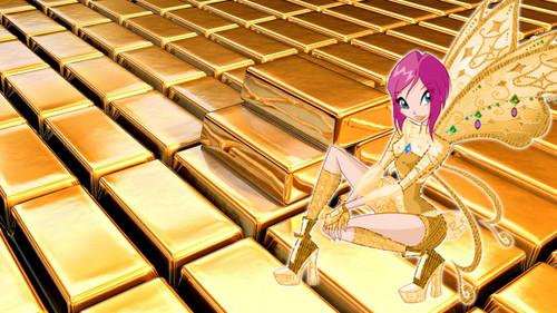 Winx emas Believix wallpaper