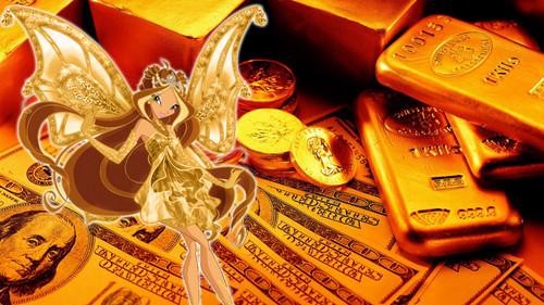 Winx emas Enchantix wallpaper