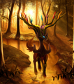 Xerneas in a Forest