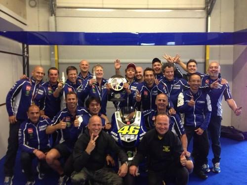 Yamaha team (Assen 2013)
