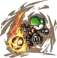 Yoshi in Mario Strikers Charged  - yoshi photo