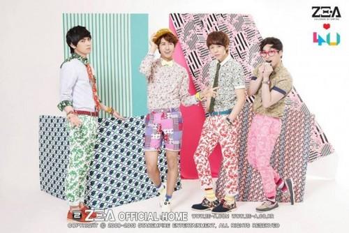 ZE:A4U jaket foto from Japanese debut album 'Oops!!'