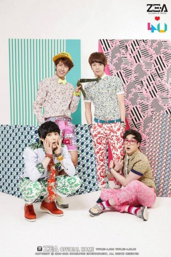 ZE:A4U chaqueta fotos from Japanese debut album 'Oops!!'