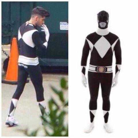 Zayn Black Power Ranger