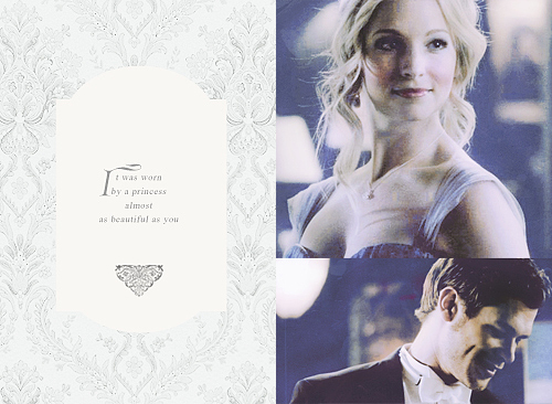 Klaus & Caroline wallpaper titled and art wasn't supposed to look nice; it was supposed to make you feel something.