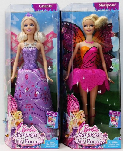 Barbie and mariposa