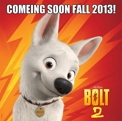 bolt 2 comeing