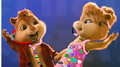 brittany and alvin  - the-chipettes fan art