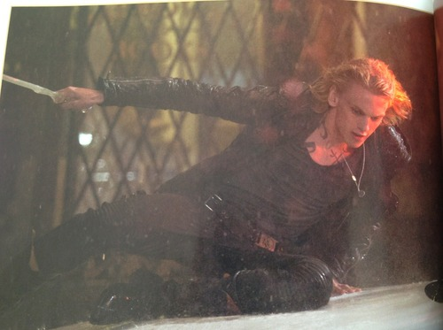 city of bones Movie Companion book - mortal-instruments Photo
