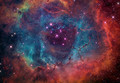 cool  exploded star - space photo