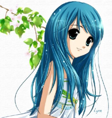 cute ऐनीमे girl