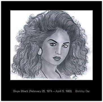 Divya Bharti kertas dinding entitled divya bharti