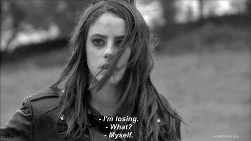 Skins wallpaper possibly containing a portrait titled effy