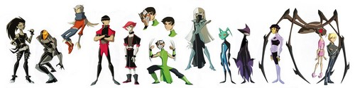 Teen Titans Hintergrund called genderbender