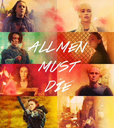 All men must die, but we are not men