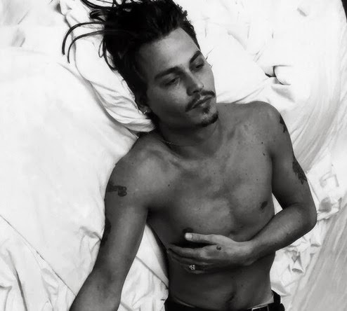Johnny Depp wallpaper with a hunk and skin titled johnny