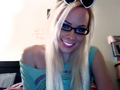 johnnyboyxo johnny boy johnnyboy jbxo trans transsexual transgender blonde singer lgbt blonde tranny