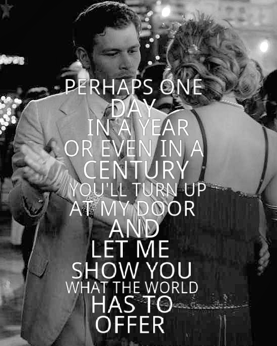 vampire diaries love quotes klaus - photo #15
