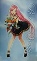 moka with flowers - rosario-vampire photo