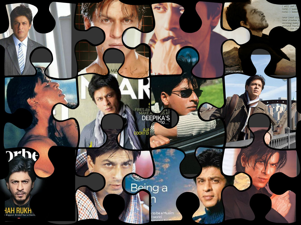 Shahrukh Khan my favourite puzzle