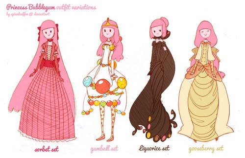 outfit time bubblegum